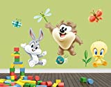 Klebefieber Wandtattoo Baby Looney Tunes B x H: 50cm x 34cm