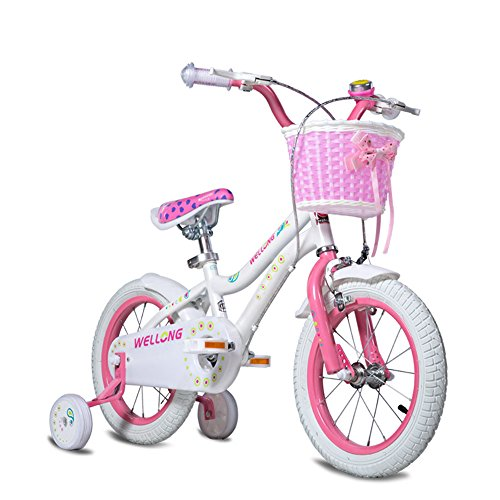 ZHIRONG Bicyclette Pour Enfants Rose Taille: 12 Pouces, 14 Pouces, 16 Pouces Sortie Extérieure ( taille : 12 inch )