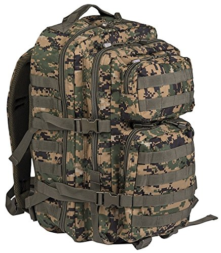 Zaino piccolo US Assault Pack Laser Cut dig. Woodland