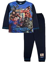 Justice League - Pijama Dos Piezas - Manga Larga - para niño