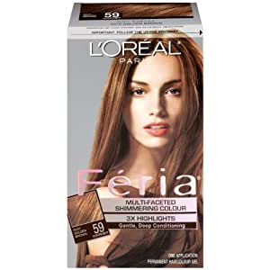 Loreal Feria Multi-faceted Shimmering Color Rich Gold ...