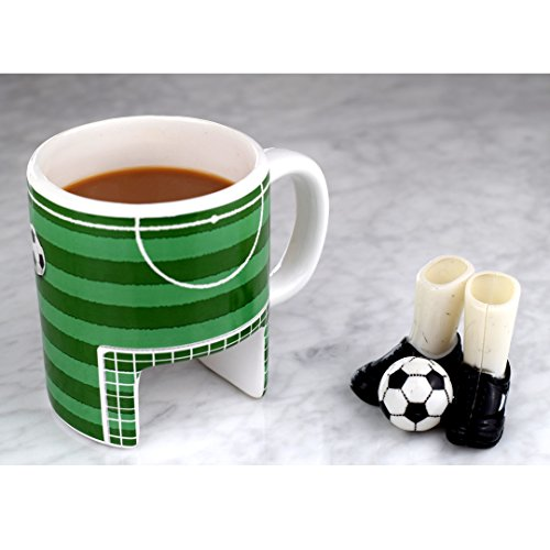Sport Taza de café de fútbol & Incluye Guantes