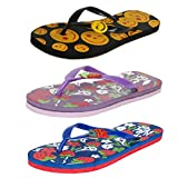 #5: Earton Women pack of 3 Flip-Flops & House Slippers