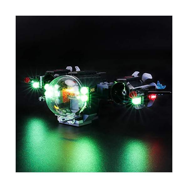 BRIKSMAX Kit di Illuminazione a LED per Lego Super Heroes Batsub di Batman e Il duello Sottomarino,Compatibile con Il… 2 spesavip