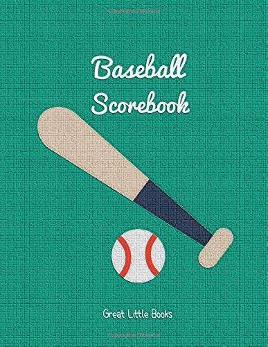 Baseball Scorebook by Great Little Books: 100 score-sheets each measuring 8.5