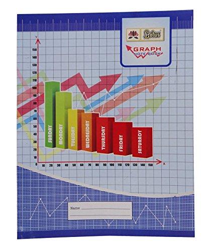 Lotus grafico carta a righe copertura Soft Plus Notebook - 64 pagine