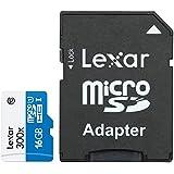 Lexar SDHC - Tarjeta microSD de 16 GB, blanco
