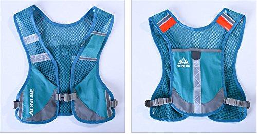 Imagen de aonijie  senderismo  hidratación maratón macho ligero chaleco escalada ciclismo , azul alternativa