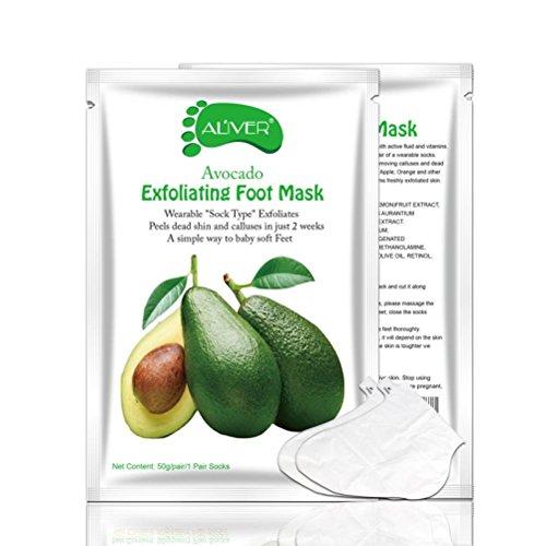 Shage Abgestorbene Haut Fuß Maske Peeling Nagelhaut Ferse Fußpflege Anti Aging