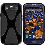 mumbi X-TPU Silikon Schutzhülle für Samsung Galaxy S3 i9300 / S3 Neo schwarz