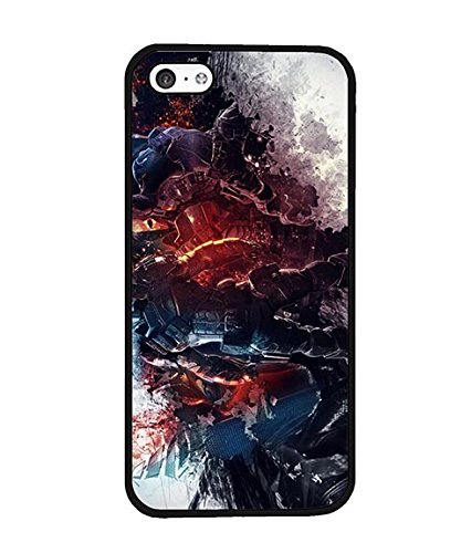 Iphone 5c Custodia Case DC Comics Deathstroke Ultra Slim Hard Plastic Cover Custodia Case Compatible with Iphone 5c