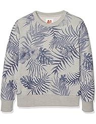 Unbekannt Jungen Sweatshirt C-Neck Sweater Leaves