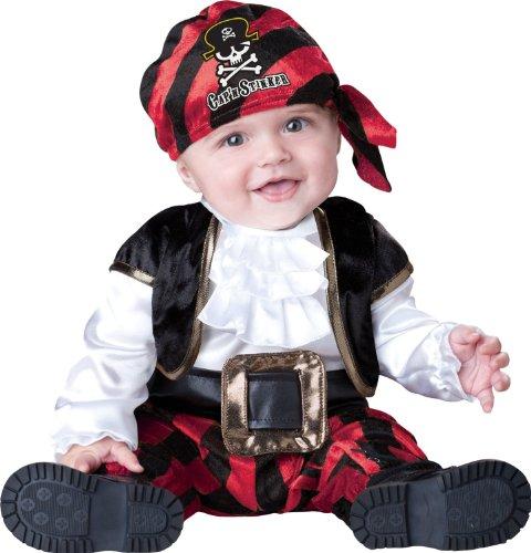 Baby-oder Kleinkind Incharacter Piraten-Kostüm - Kapitän Stinker 6-12 (Piraten Kapitän Kleinkind Kostüm)