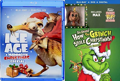 How The Grinch Stole Christmas Blu Ray.Santa S Naughty List Original Cartoon Story Dr Seuss How The Grinch Stole Christmas Blu Ray Dvd Exclusive Max The Dog Pocket Pop Figure Ice