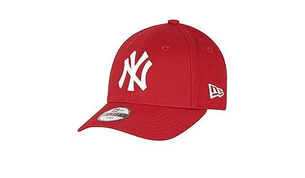New Era K 940 MLB Bas New York Yankees Cap - Red White 19764f9aa006