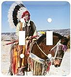3drose l.s.p. 92657_ 2Native American Indian, alkalde, New Mexico) US32jmr0305Julien McRoberts Lichtschalter Cover