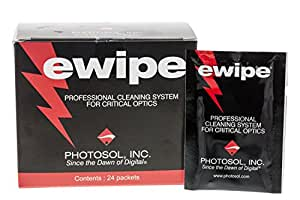 Photo Solutions E Wipe Sachets (Pack 24) (PS0150 25) (110316)