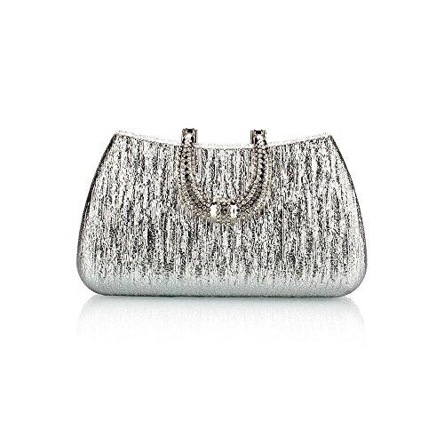 WZW Sacchetto di frizione di sera . silver silver