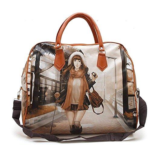 HappenWell Women's Digitally Printed Polyester Casual Hand Bag Hobo Handbag...