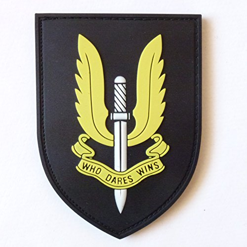 SAS British Special Air Service SFG UK Call of Duty COD PVC 3D Gummi Touch Fastener Aufnäher Patch (Patch Cod)