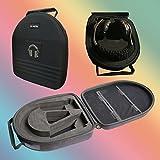 v-mota TDG auriculares maleta Carry Case Boxs para Denon AH-D7100AH-D600y Yamaha Mt220y Ferrari Cavallino T350y octogonal de Monster UFC 24K y Pioneeer HDJ2000Auriculares (maleta)