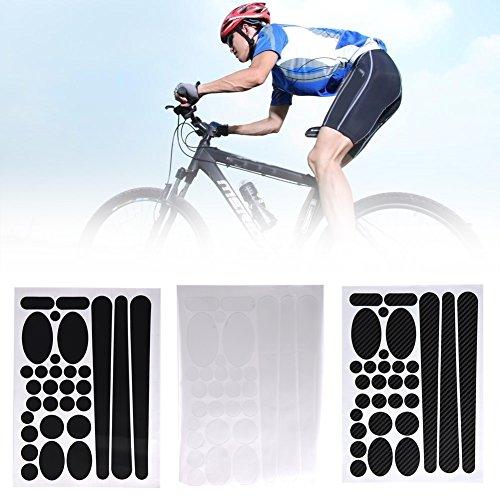 VGEBY Etiquetas Engomadas de Protector de Marco de Bicicletas Pegatina de Protector de Marco para Bicicletas...