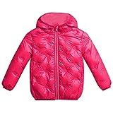 Kinder Mäntel Sunnydrain Kinder jacken Reine Farbe A-Line Reißverschluss Hoodie Lose Winter Warm Herbst Kapuzen Outerwear Baumwolle Langarm