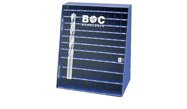 Bohrcraft Drill Bit Display Blue 980/Auger Bit Set of 10/x 0.1//10.5/x 0.5/mm BD 980/Empty 01301500004 Pack of 1