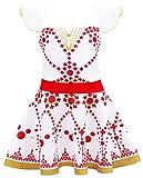 AmzBarley Disfraz de bailarina de Felicie Vestido de bailarina de ballet para ni?os Fiesta de rendimiento de ni?as 3-4 A?os