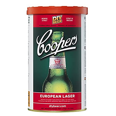 Coopers European Lager - Home Brew Ingredients - 40 Pint Refill Kit
