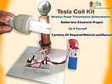 #8: Kutuhal Wireless Transmission Demonstration, Tesla Coil Kit. Do It Yourself.