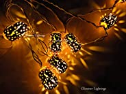 Glimmer Lightings Metal Tube String Light for Home Decoration, Bed Room Decor, Birthday Party, Diwali, Christm
