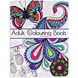 Adultos de 96páginas para colorear libro antiestrés realxation color arte terapia calmante