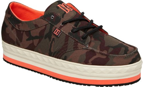 DC Shoes Rebound, Baskets mode garçon Grün