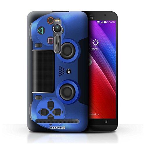 Preisvergleich Produktbild Stuff4 Hülle / Case für Asus Zenfone 2 ZE551ML / Blau Muster / Playstation PS4 Kollektion