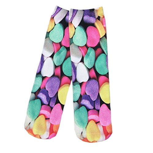 unisexe-amour-romantique-coeur-candy-tube-multicolore-tendance-equipage-chaussettes
