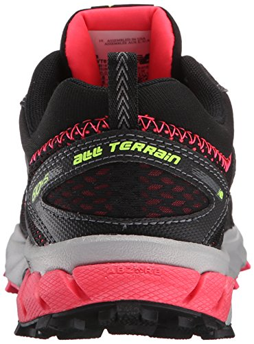 New Balance Wt610 Trail, baskets sportives femme noir (Black/Pink Glo)