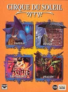 Le Cirque du Soleil : Quidam / Dralion / Saltimbanco / Varekai - Coffret 4 DVD