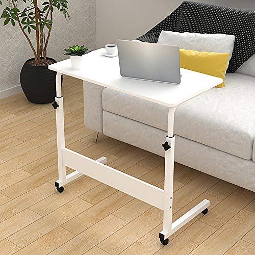WUPO Laptop-Computer Stand Schreibtisch Warenkorb Tablett Beistelltisch, Einstellbare Tragbare Mobile, Für Bett Sofa Krankenhaus Pflege Lesen Essen (Warenkorb Laptop-schreibtisch)
