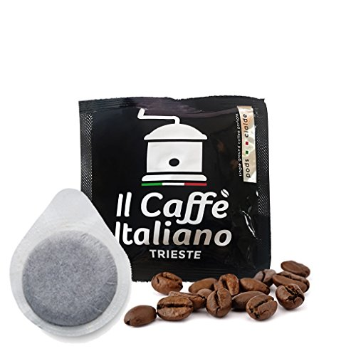 100 Pads ESE 44 mm - 100 Kaffeepads ESE 44 mm Mischung Trieste - Il Caffè Italiano
