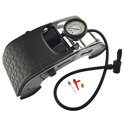 Miete Auto gonfleur reifen Luft Pumpe zu Fuß Pumpe zu Fuß doppelten Körper 0-100psi TE032 (Portable Luft-pumpe Für Auto)