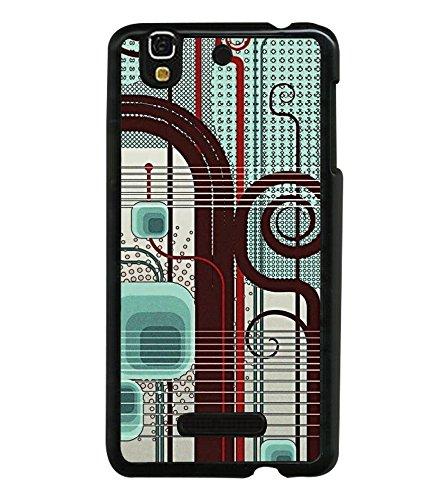 PrintVisa Musical Circuit Panel High Glossy Designer Back Case Cover for YU Yureka :: YU Yureka AO5510