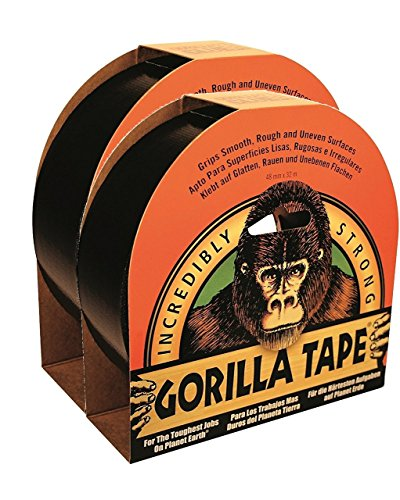 Gorilla Tape 32m x 48mm Pack of 2 Test