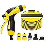 Yuany Hochdruck-Autowaschwasserpistole Home Nozzle Set Bewässerungsschlauch Gartenschlauch 40M