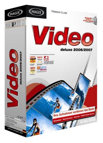 MAGIX Video deluxe 2006/2007 Deluxe Camcorder