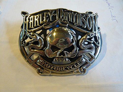 Artikel eird am nächsten Tag versand!Harley Davidson Gürtelschnalle buckle Gürtel Belt Gürtel shield Adler Totenkopf Motorrad (Gürtelschnallen Harley)