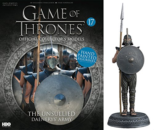 Statue des Harzes. Game of Thrones Collection Nº 17 The Unsulled Daenerys Army