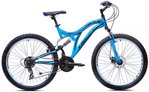 Capriolo Mountainbike 26 /GTX260/, MTB, Shimano 18 Gang, Scheibenbremse, farbige Bautenzüge