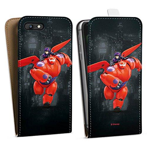 Apple iPhone X Silikon Hülle Case Schutzhülle Disney Baymax Merchandise Fanartikel Downflip Tasche weiß