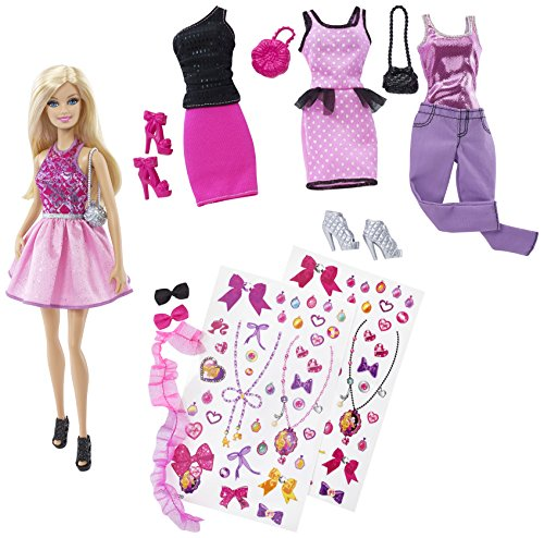 Barbie CDM12 - Fashion Activity Set
